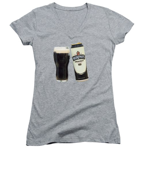 Murphys Draught Women's V-Neck T-Shirt