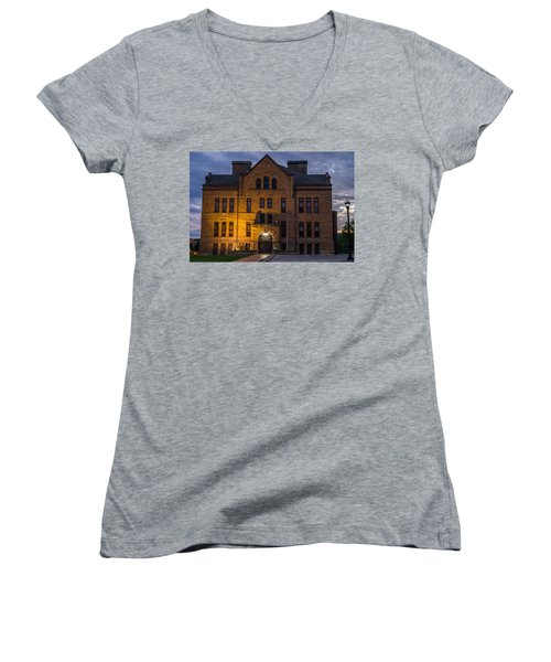 Museum Women's V-Neck T-Shirt