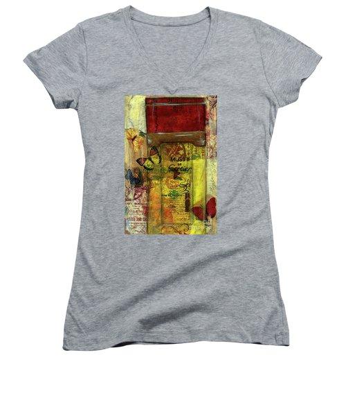 Must De Cartier Women's V-Neck T-Shirt (Junior Cut)