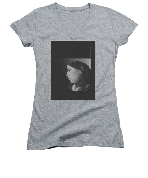Muted Shadow No. 1 Women's V-Neck