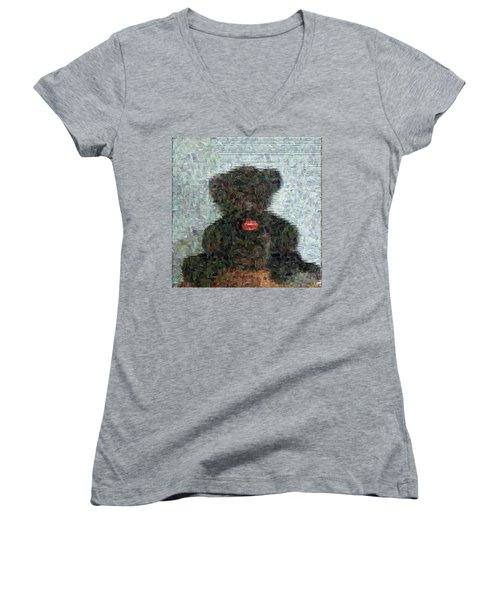 My Bear Women's V-Neck