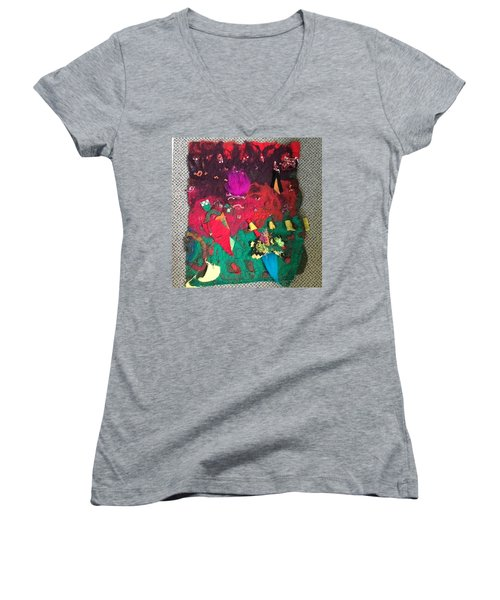My Favorite Things Women's V-Neck (Athletic Fit)
