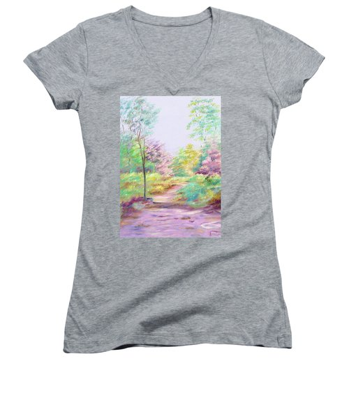 My Favourite Place Women's V-Neck T-Shirt