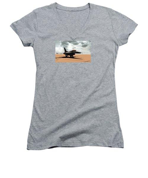 My Jet Women's V-Neck T-Shirt