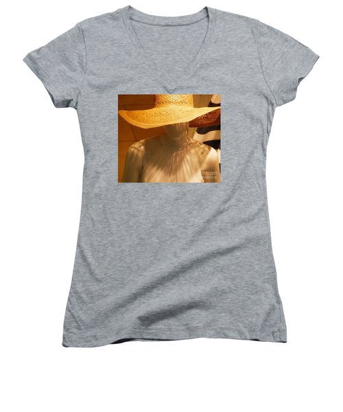 My New Summer Hat Women's V-Neck (Athletic Fit)