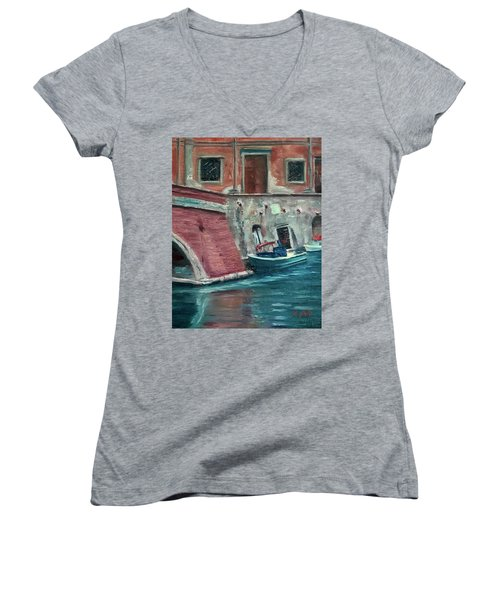 My Other Car Women's V-Neck (Athletic Fit)