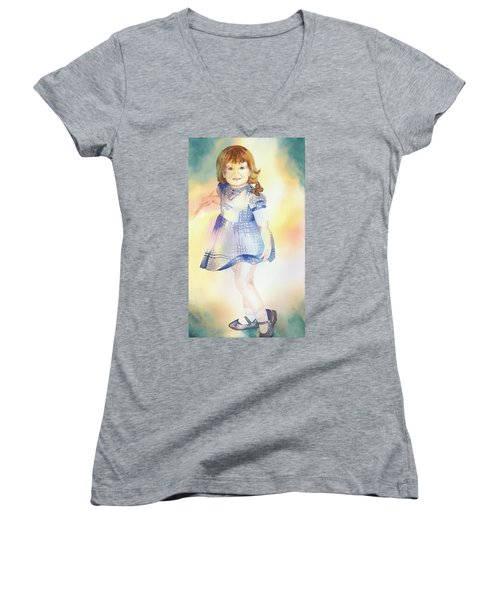 My Sister Women's V-Neck T-Shirt