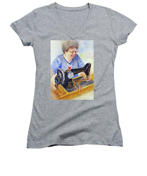 My Sister's Joy Women's V-Neck T-Shirt