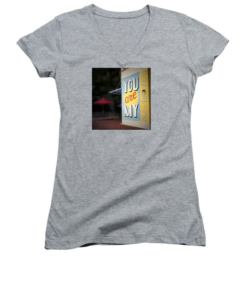 My Sunshine Women's V-Neck T-Shirt