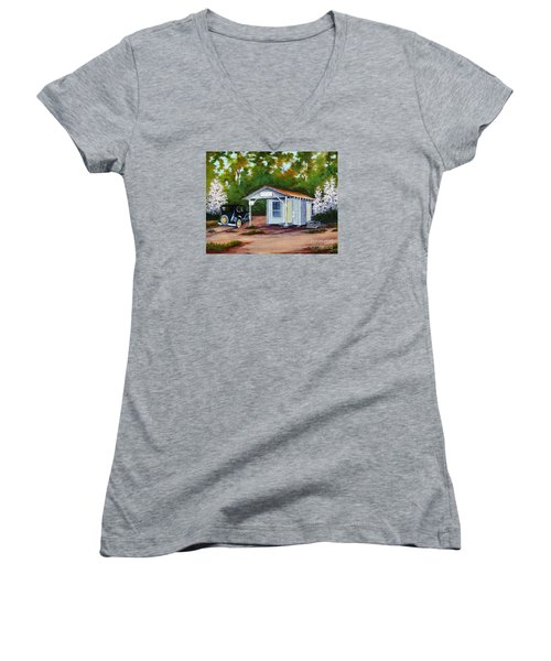 Myers Mill Post Office Women's V-Neck T-Shirt