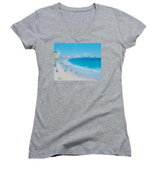 Myrtle Beach And Springmaid Pier Women's V-Neck