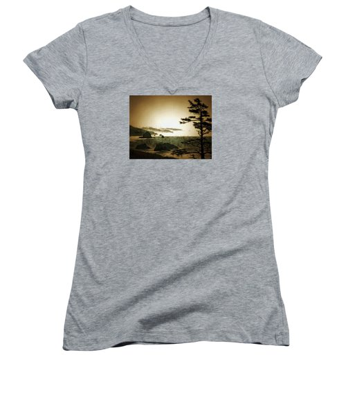 Mystic Landscapes Women's V-Neck