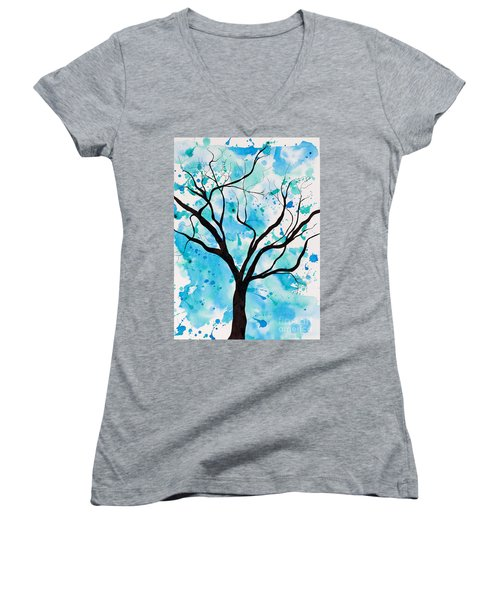 Mystic Tree Women's V-Neck