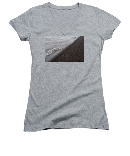Women's V-Neck featuring the photograph Mystical Island - Healing Waters 2 by Matthew Wolf