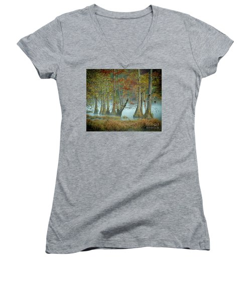 Mystical Mist Women's V-Neck T-Shirt