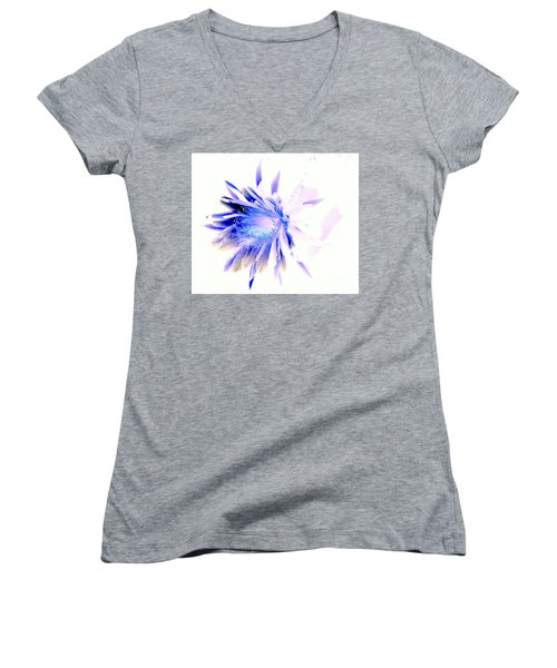 Mystical Phenomenoms Of The Southwest Cactus Orchid Women's V-Neck T-Shirt