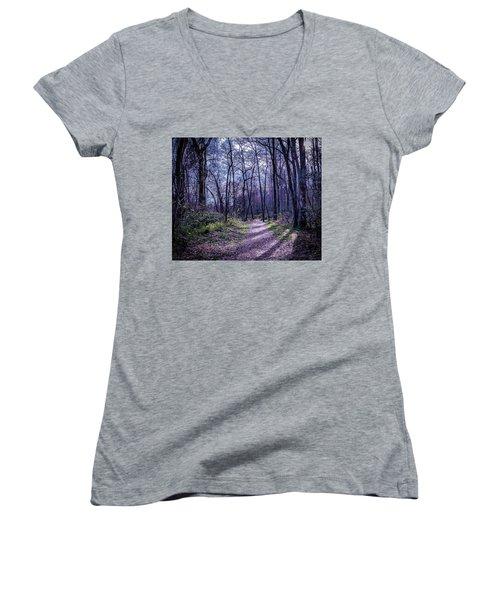 Mystical Trail Women's V-Neck
