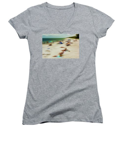 Naples Florida Women's V-Neck