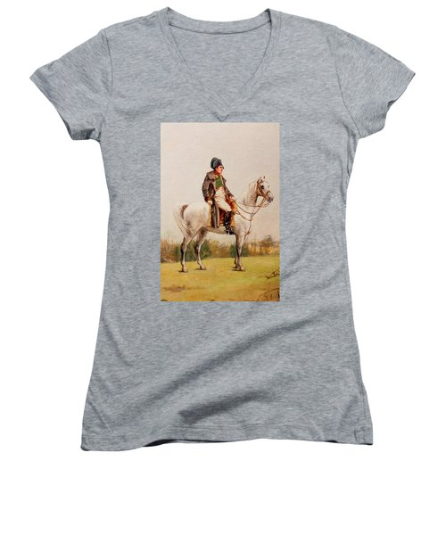 Napoleon Bonaparte Series 0552 Women's V-Neck (Athletic Fit)