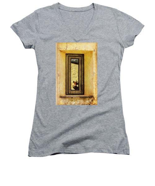 Narrow Reflections Women's V-Neck T-Shirt