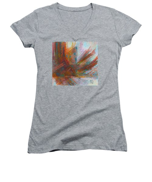 Native Dancer Women's V-Neck T-Shirt