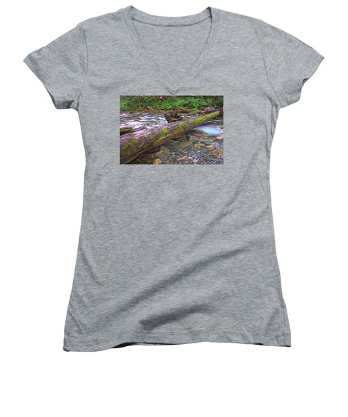 Natural Bridge Women's V-Neck (Athletic Fit)