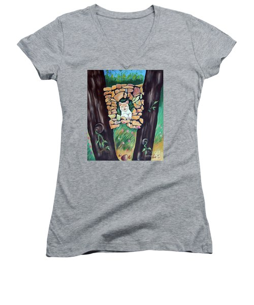 Natural Home Women's V-Neck T-Shirt