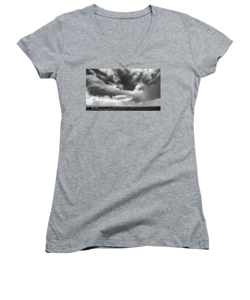 Nature Making Art Women's V-Neck T-Shirt