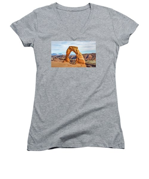 Nature's Delicate Balance Women's V-Neck
