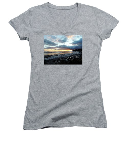 Nature's Force Women's V-Neck T-Shirt