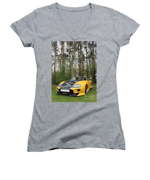 Nature's Machine Women's V-Neck T-Shirt