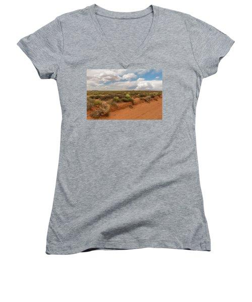 Navajo Reservation Women's V-Neck