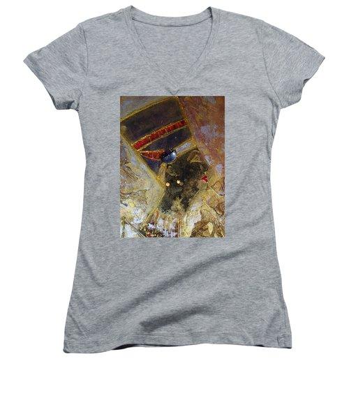 Nefertiti Women's V-Neck T-Shirt