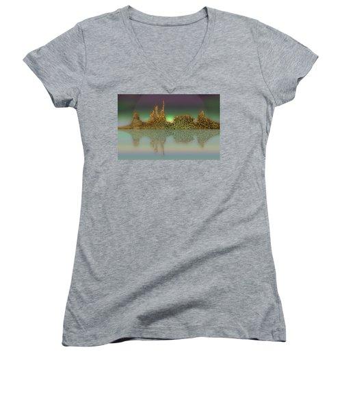 Neft Ardour Women's V-Neck T-Shirt