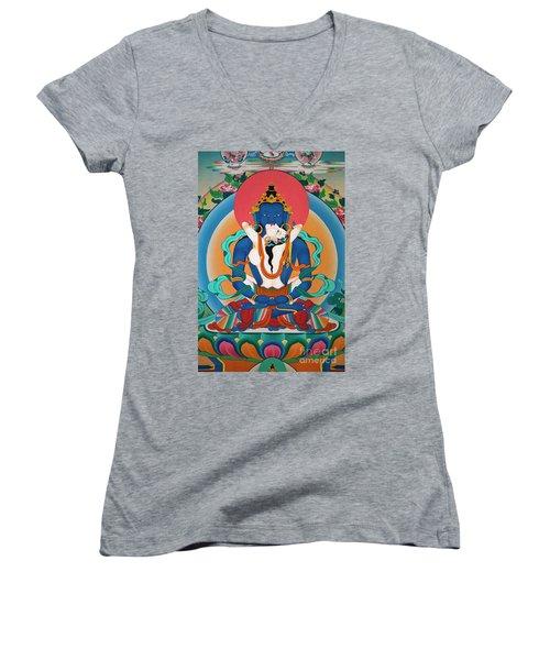 Nepal_d567 Women's V-Neck