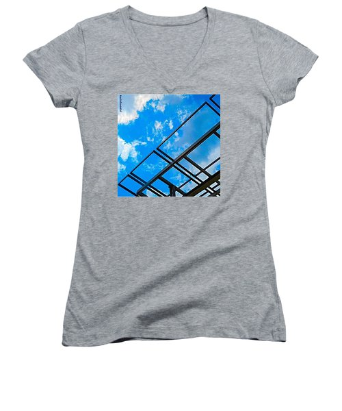 Never Tell Me The #sky Is The Limit Women's V-Neck