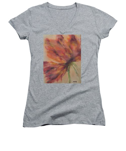 New Beginnings  Women's V-Neck T-Shirt (Junior Cut)