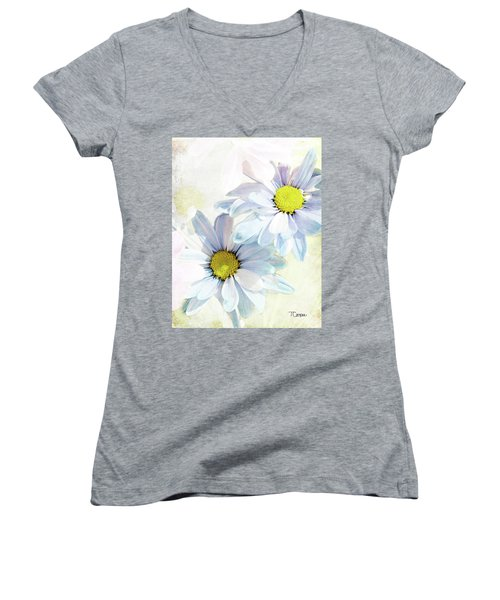 New Birth 2 Women's V-Neck T-Shirt (Junior Cut)