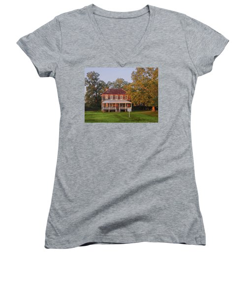 New Dawn On Old House Women's V-Neck