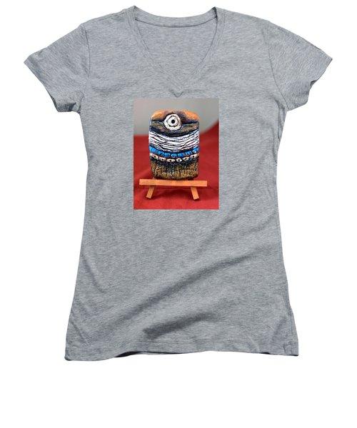 New Horizon Women's V-Neck T-Shirt