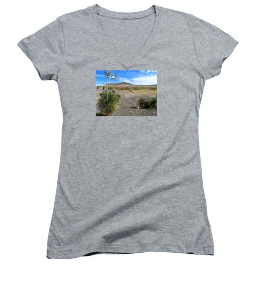 New Mexico Women's V-Neck