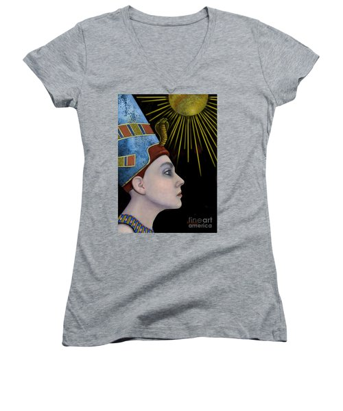 New Nefertiti Women's V-Neck (Athletic Fit)