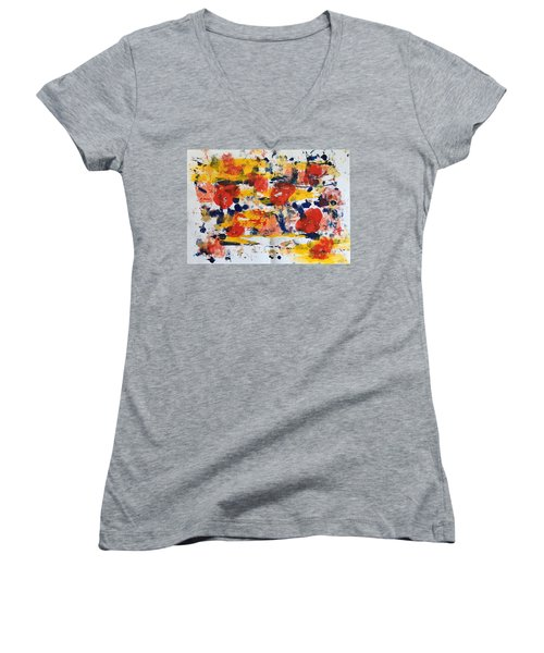 New Orleans No 1 Women's V-Neck (Athletic Fit)