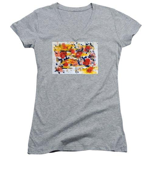 New Orleans No 1 Women's V-Neck T-Shirt