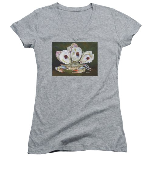 New Orleans Still Life Women's V-Neck T-Shirt