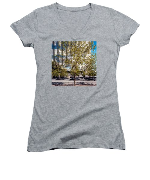 Trees On Fed Plaza Women's V-Neck