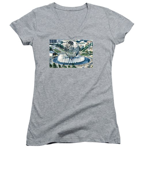 New York World's Fair Women's V-Neck (Athletic Fit)