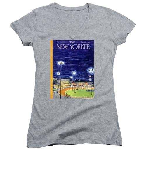 New Yorker May 16 1959  Women's V-Neck (Athletic Fit)