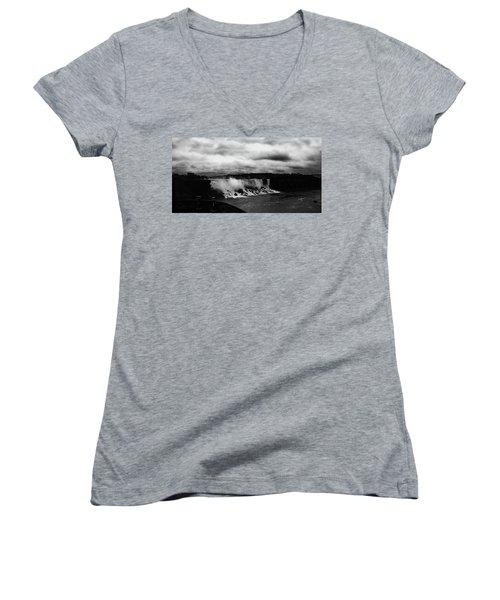 Niagara Falls - Small Falls Women's V-Neck T-Shirt