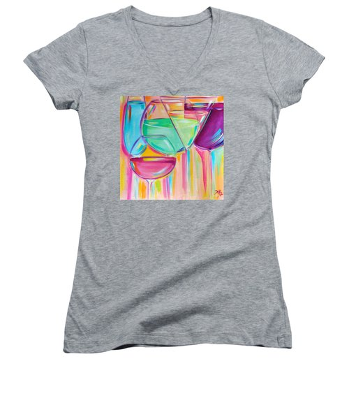 Nice Stems Women's V-Neck T-Shirt